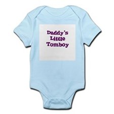 Daddy's Little Tomboy Infant Creeper