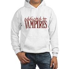 Addicted to vampires - red Hoodie