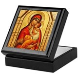 Mary the God-Bearer Keepsake Box