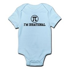 I'm Irrational PI Infant Bodysuit
