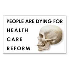 Health Care Reform - Rectangle Decal