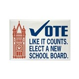 100 Change Duluth School Board Magnets
