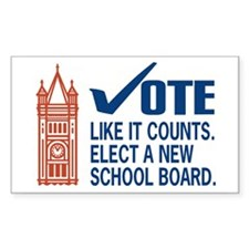 10 Change Duluth School Board Stickers