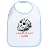 Jason Was A Good Goalie Bib