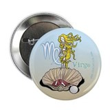 "Virgo - Skeletica Zodiacal 2.25"" Button (10 pack)"