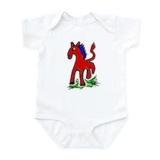 Cute Morgan horse Infant Bodysuit