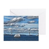 Newport Bridge Greeting Cards (Pk of 10)