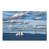 Newport Bridge Postcards (Package of 8)