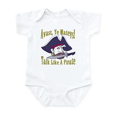 Talk Like A Pirate Infant Bodysuit