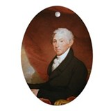 James Monroe Christmas Ornament