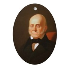 John Quincy Adams Christmas Ornament