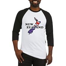 New Zealand Flag Baseball Jersey