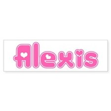 """Alexis"" Bumper Bumper Sticker"