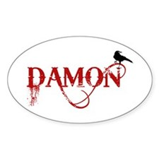 Damon Crow Oval Decal