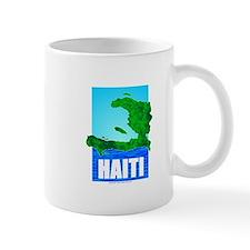Unique Haiti map Mug