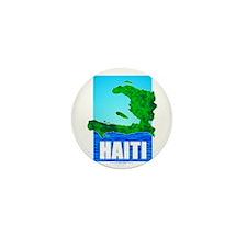 Unique Haiti map Mini Button (100 pack)