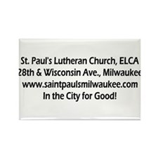 Funny St pauls Rectangle Magnet (10 pack)