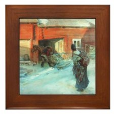A Farmstead Framed Tile