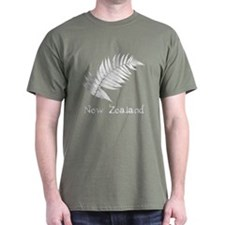 New Zealand Leaves T-Shirt