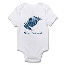 New Zealand Leaves Infant Bodysuit