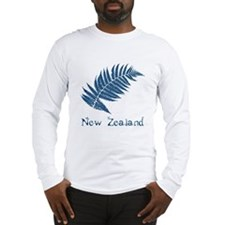 New Zealand Leaves Long Sleeve T-Shirt