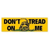 Gadsden Dont Tread Bumper Car Sticker