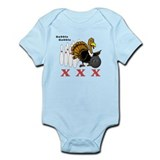 Bowling Turkey Infant Bodysuit