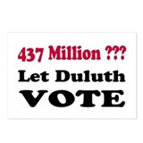 8 Let Duluth Vote Postcards