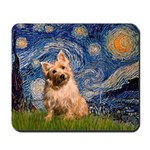 """Starry"" in Starry Night Mousepad"