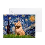 """Starry"" in Starry Night Greeting Cards"