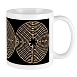Chartres Labyrinth Pearl Mug