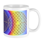 Chartres Labyrinth Pearl Coffee Mug