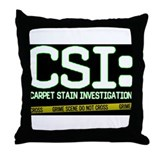 CSI: Throw Pillow
