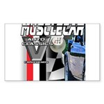 musclecar Rectangle Sticker 10 pk)