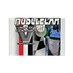 musclecar Rectangle Magnet (100 pack)
