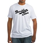 Brooklyn Jews Fitted T-Shirt