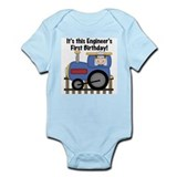 Engineer First Birthday Infant Bodysuit