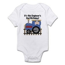 Engineer 2nd Birthday Infant Bodysuit