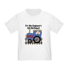 Engineer 4th Birthday T