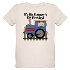 Engineer 5th Birthday T-Shirt