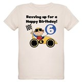 Race Car 6th Birthday T-Shirt