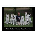 White Shepherd GP Fundraiser Wall Calendar