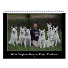White Shepherd GP Fundraiser Wall Calendar