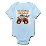 Race Car 1st Birthday Infant Bodysuit