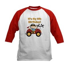 Race Car 5th Birthday Tee