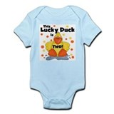 Lucky Duck 2nd Birthday Infant Bodysuit