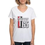 Musclecars 1965 Women's V-Neck T-Shirt