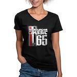 Musclecars 1965 Women's V-Neck Dark T-Shirt