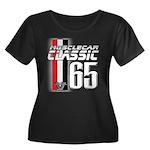 Musclecars 1965 Women's Plus Size Scoop Neck Dark