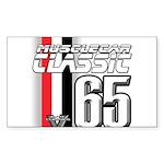 Musclecars 1965 Rectangle Sticker 10 pk)